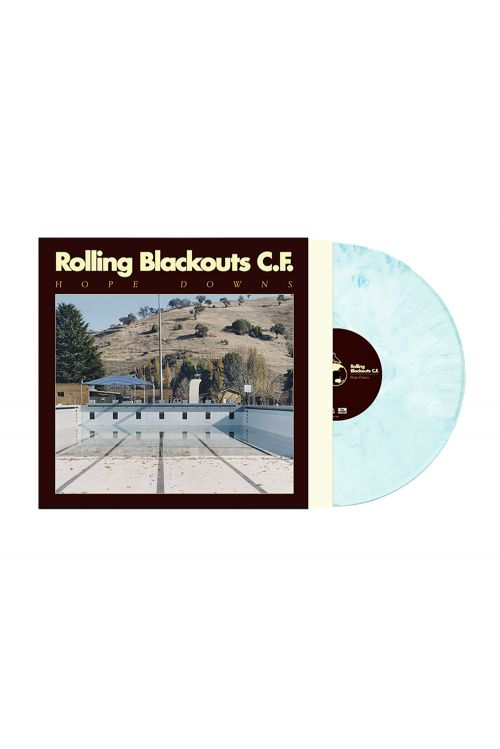 Hope Downs LP (Limited Edition Iced Blue with Download Card included) by Rolling Blackouts Coastal Fever