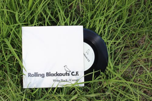 "'Write Back/Career' 7"" by Rolling Blackouts Coastal Fever"