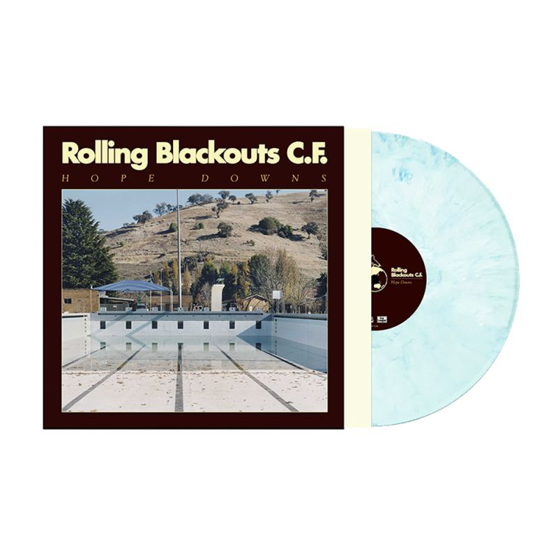 Hope Downs LP (Limited Edition Iced Blue with Download Card included)