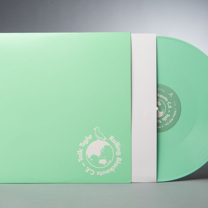 "Rolling Blackouts Coastal Fever – Talk Tight EP 'LOSER Edition' Hospital Green Coloured Vinyl (""12)"